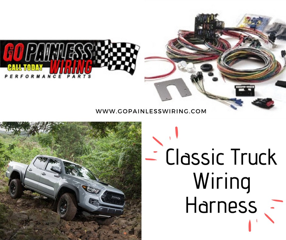 classic truck wiring harness at go painless wiring go painless rh medium com Antique Truck Wiring Vintage Truck Wiring Diagrams