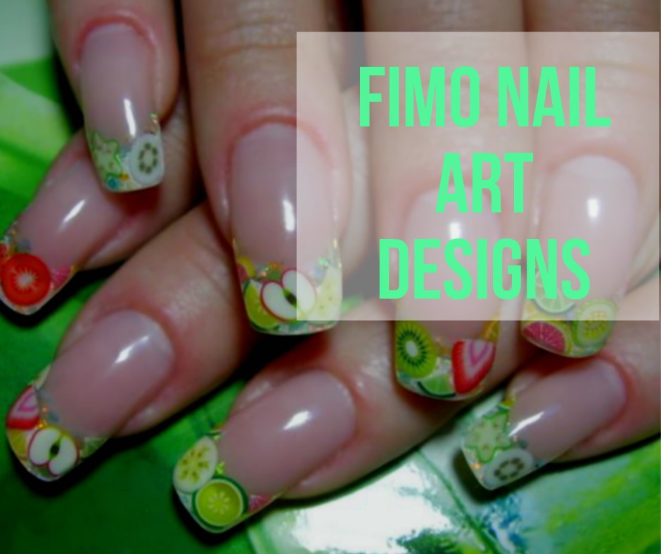 Fimo Nail Art Must Have Accessory For Unique Nail Decoration