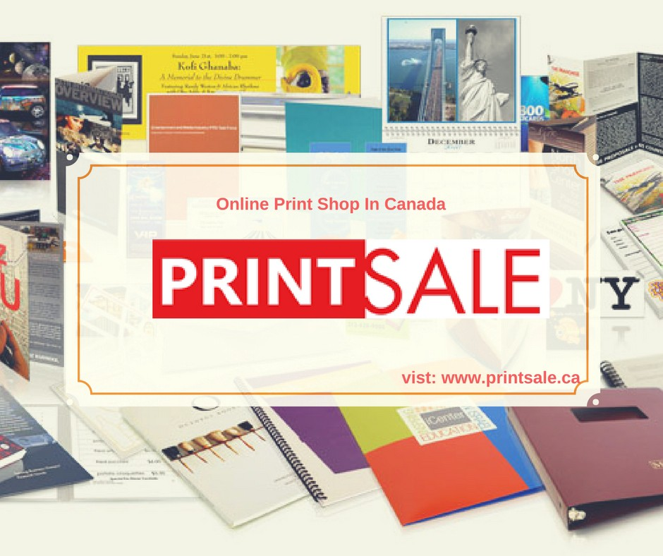 digital printing services | online print shop | printsale.ca