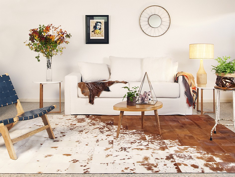 Cowhide Rugs: Adding A Touch Of Rustic Charm To Contemporary Décor
