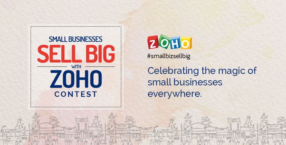 small businesses sell big with Zoho