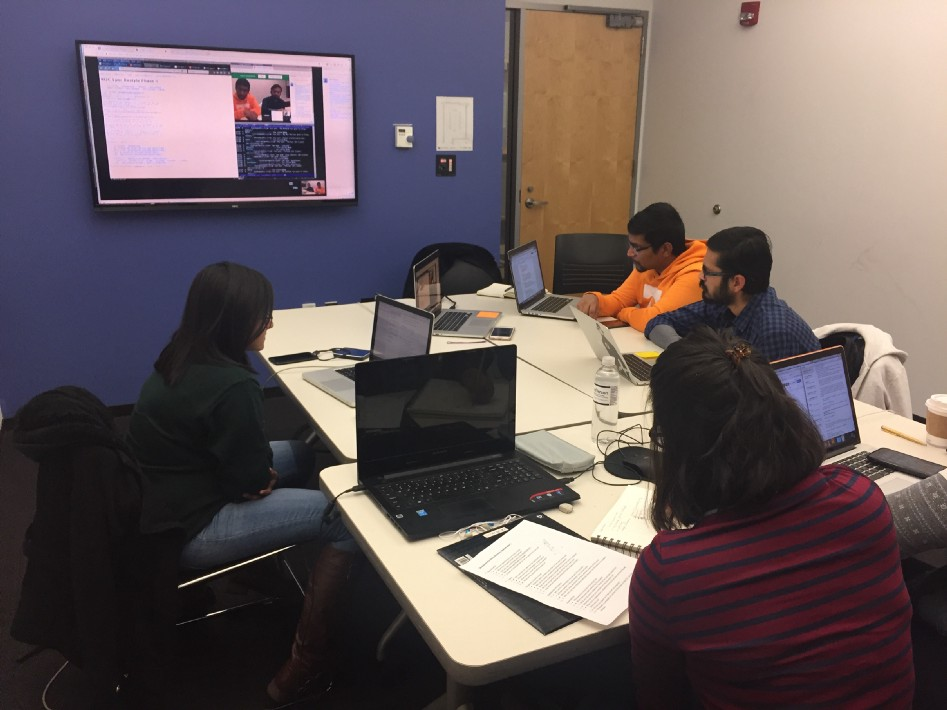 The W3C Specification Redesign Team comprises students in the User Experience and Interaction Design master's degree program at Jefferson University