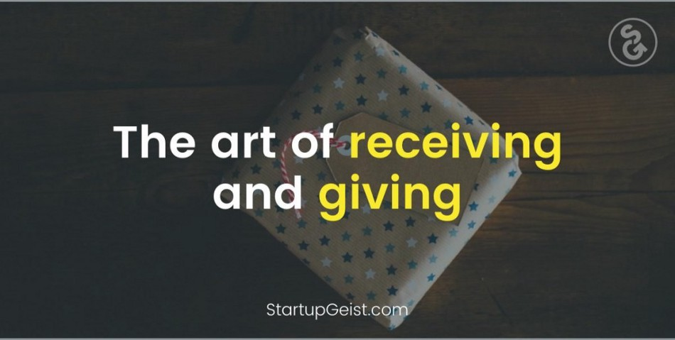 59 the art of giving and receiving