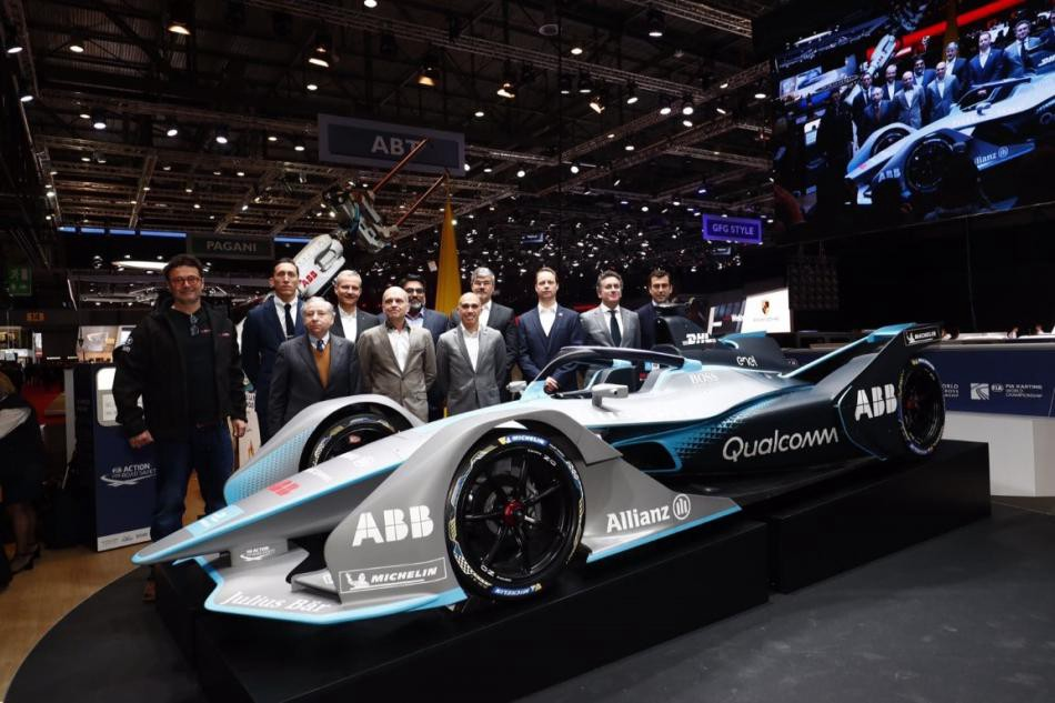 Formula E Releases Gen Car At The Geneva International Motor Show - When is the next car show