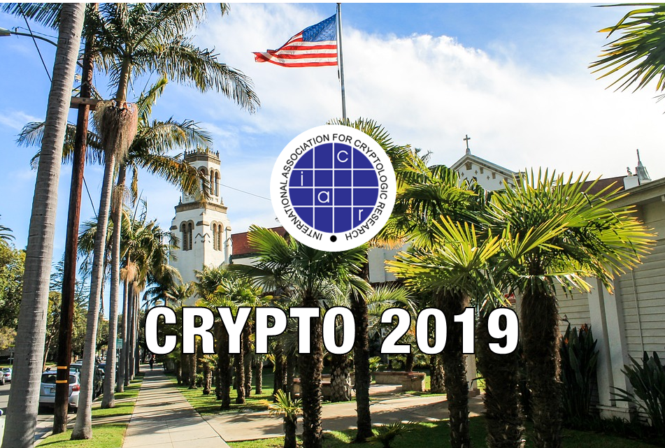 Dusk Netwerk - Crypto 2019 conference Santa Barbara -Academical progress in the field of cryptography