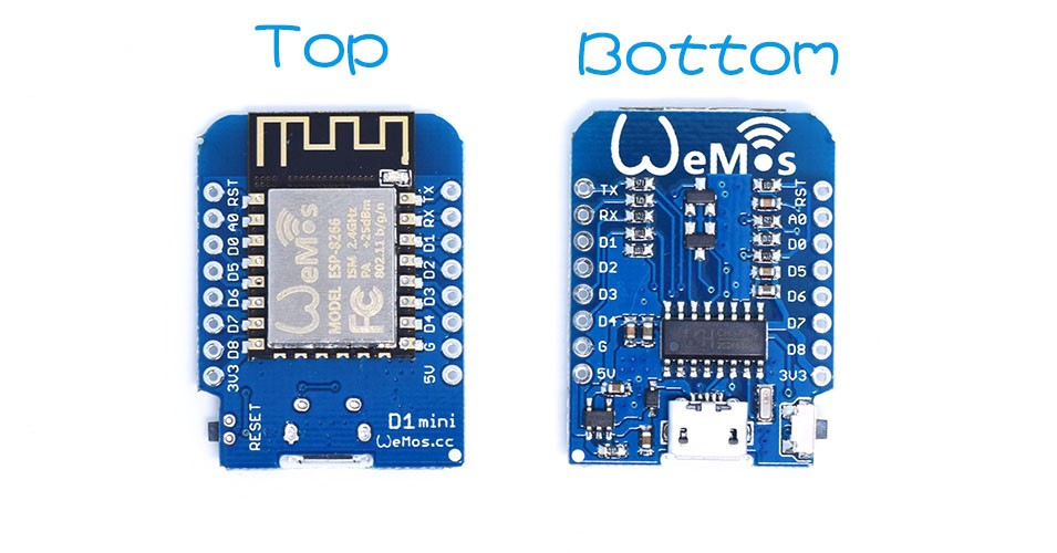 Help on Wemos D1 mini versions, please  : esp8266