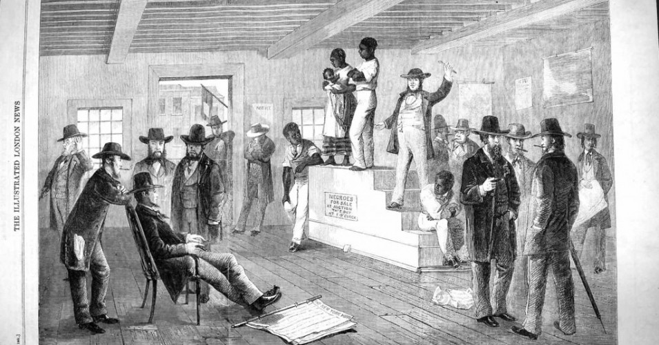 Slavery white slave trade absolutely not