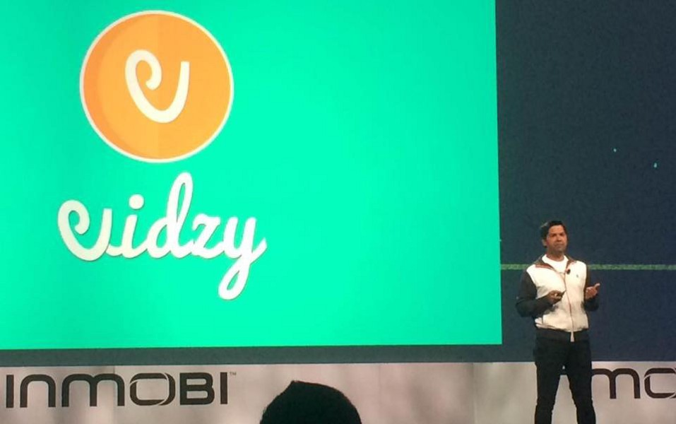 Presenting Vidzy at Fort Mason during Miip Launch event