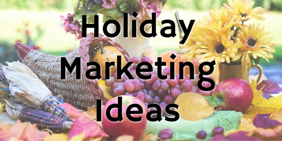 Thanksgiving table for holiday marketing