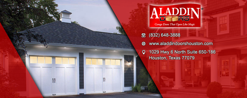 Aladdin Garage Doors Houston Offers A Large Selection Of Reliable Garage  Doors And Openers. Our Services Include Garage Door, Opener U0026 Spring Repair  And ...