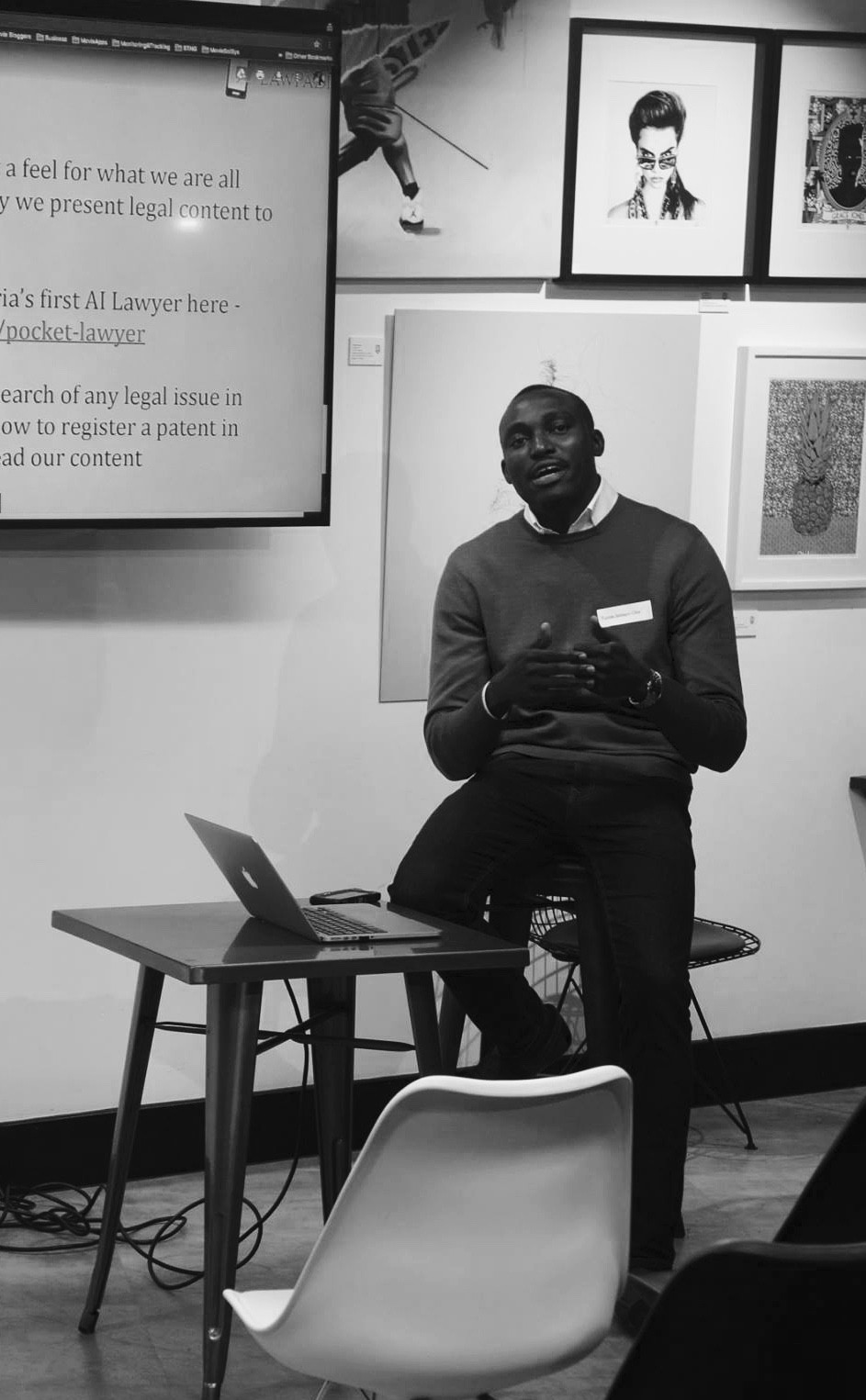 Quality Time: Tunde Ibidapo-Obe talking about LawPàdí and making Nigerian laws more accessible.
