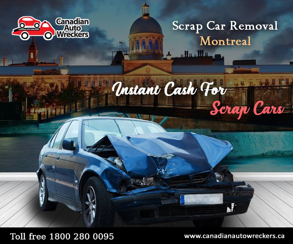 REMOVE SCRAP BE FREE…VISIT @ www.canadianautowreckers.ca