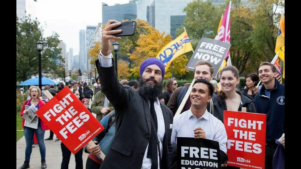 the time has come for free education in canada is the ndp ready to