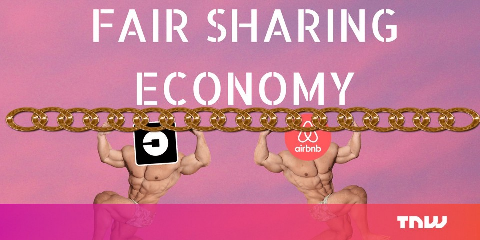 Blockchain is the key to fair distribution of wealth in the sharing economy
