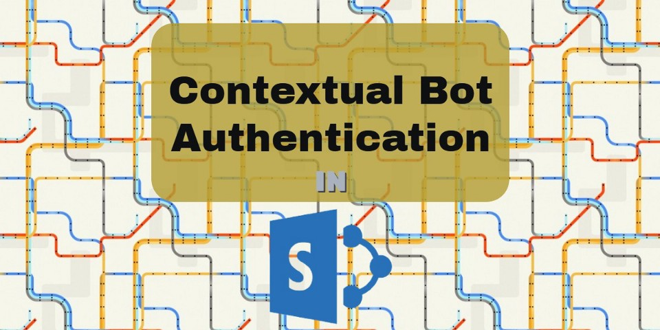 Contextual authentication with the Bot webchat control in