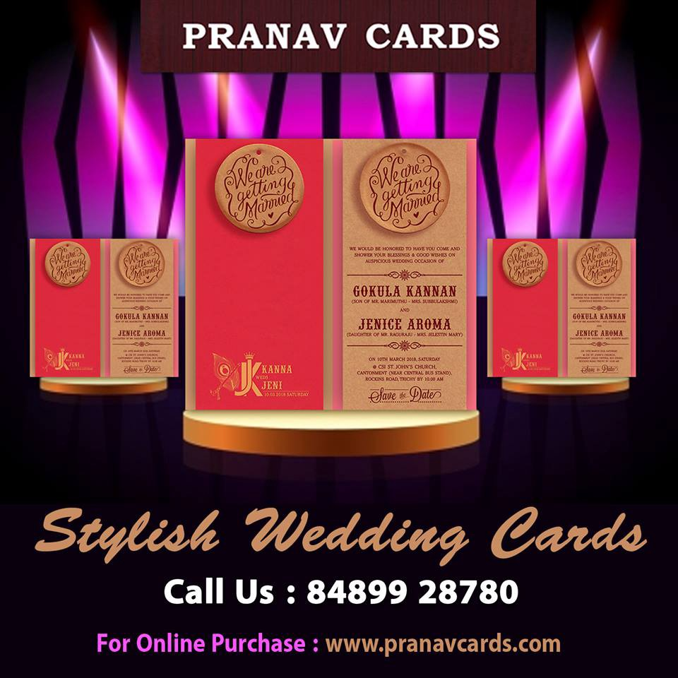 SHOP THE BEST QUALITY WEDDING INVITATIONS ONLINE @ Pranav Cards