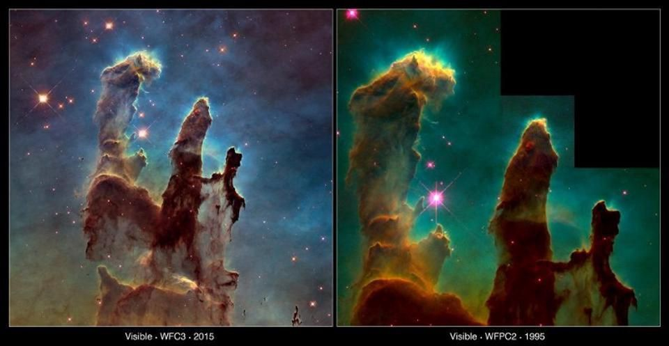 The Pillars Of Creation Haven\'t Been Destroyed, After All
