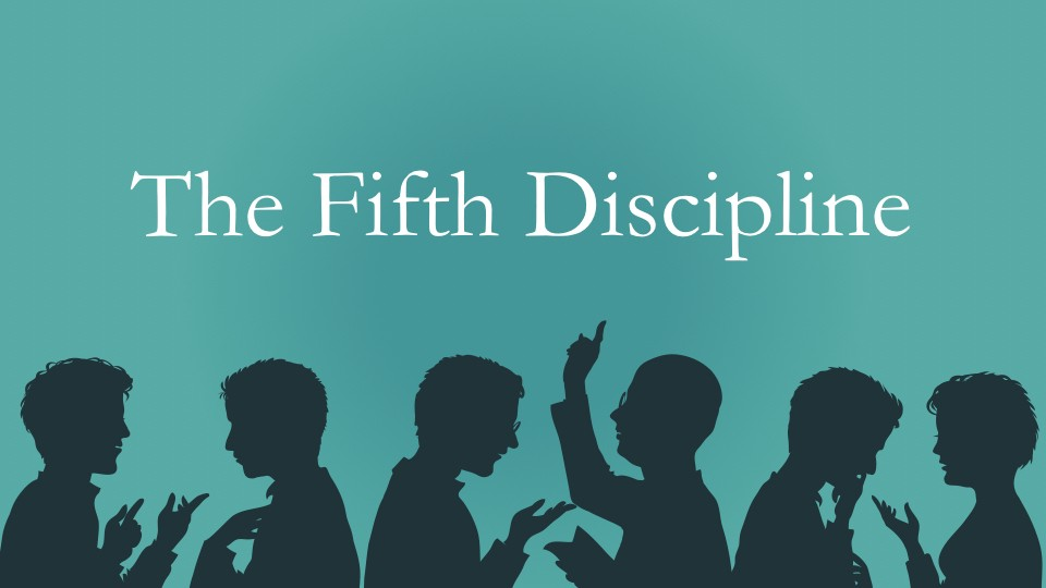 we are starting the year with the fifth discipline by peter senge the seminal book that introduced the corporate world to the learning organization