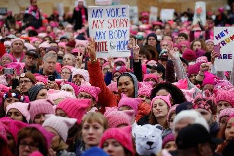 A March for ALL Women  A Trans Woman s Impassioned Defense of the Women s  March AND the Pussyhat d99cdca610c0