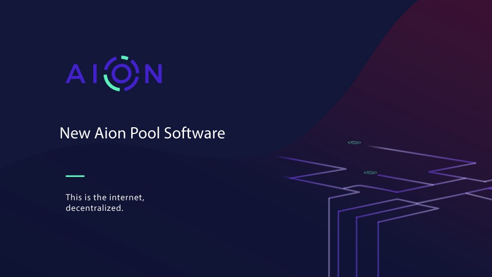 New Aion Pool Software