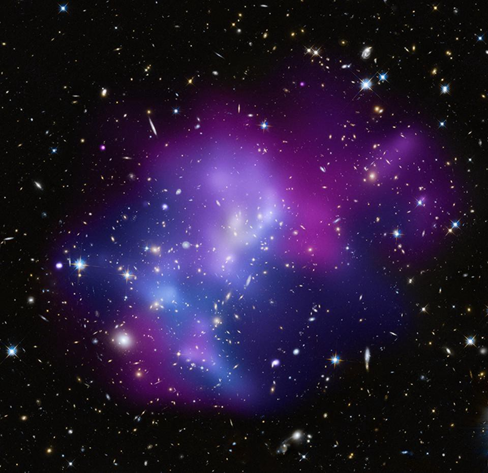 universe's largest structure caught in the act of forming
