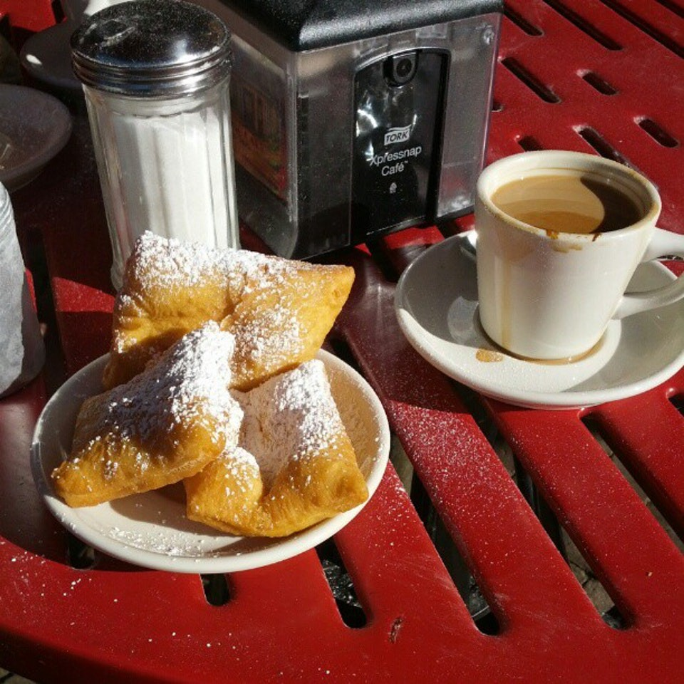 beignets from Morning Call