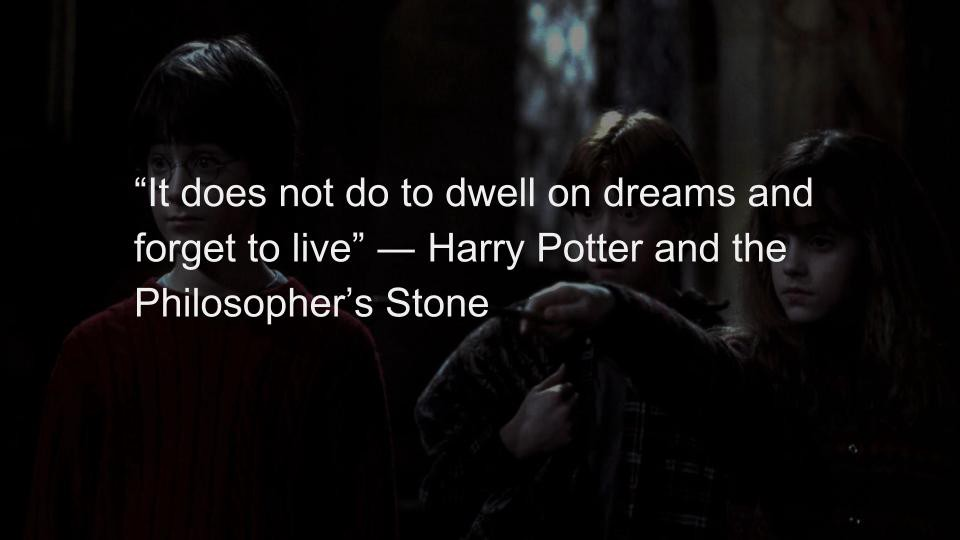 Black Quotes Stunning Top 48 Magical Quotes From Harry Potter LINER Medium