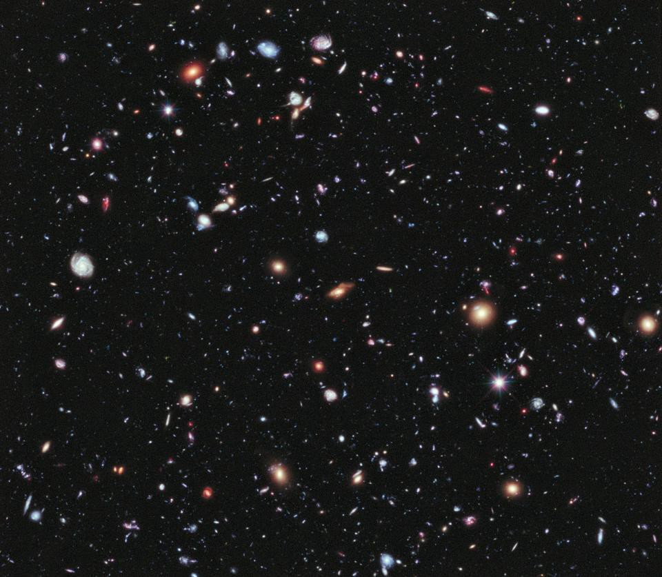 Five Discoveries In Fundamental Physics That Came As Total Surprises Electrostatic Charge Detector Electroscope The Hubble Extreme Deep Field Our Deepest View Of Universe To Date Which Reveals Galaxies From When Was Only 34 Its Current Age