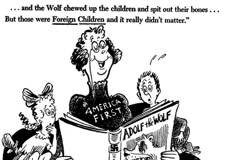 dr seuss in politics