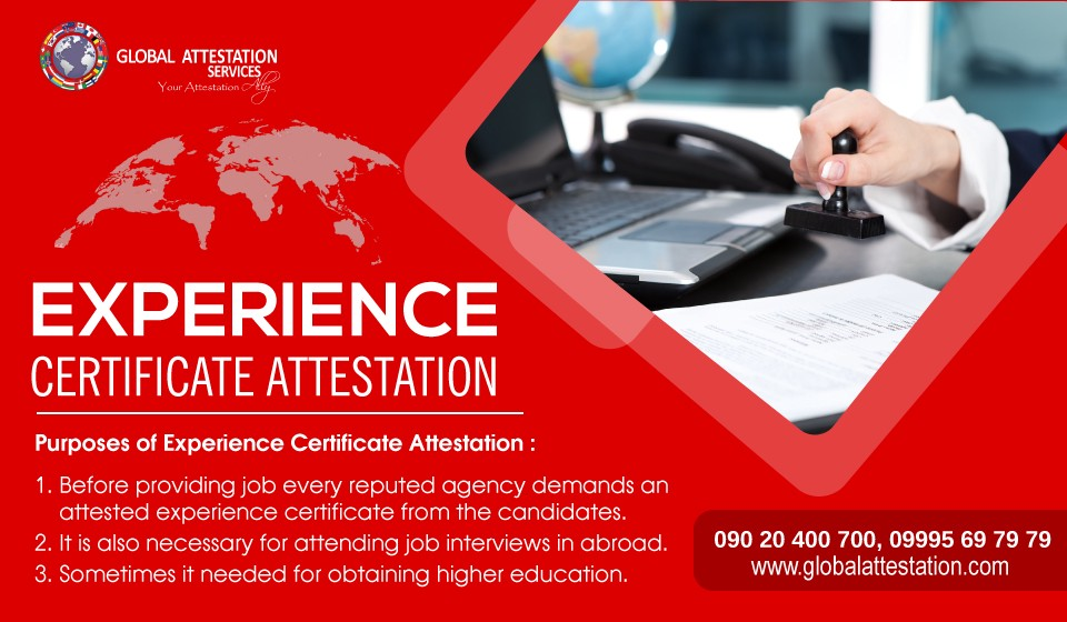 noneducational certificate attestation and mainly required in the international education field experience certificate is defined as an official letter