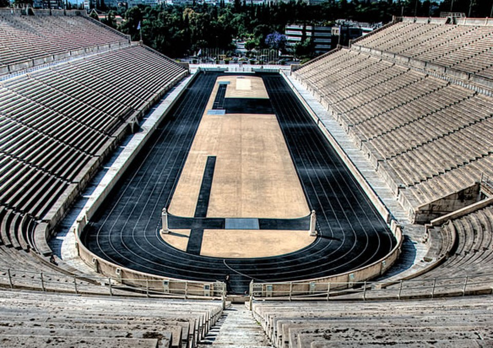 Panathinaic Stadium in Athens