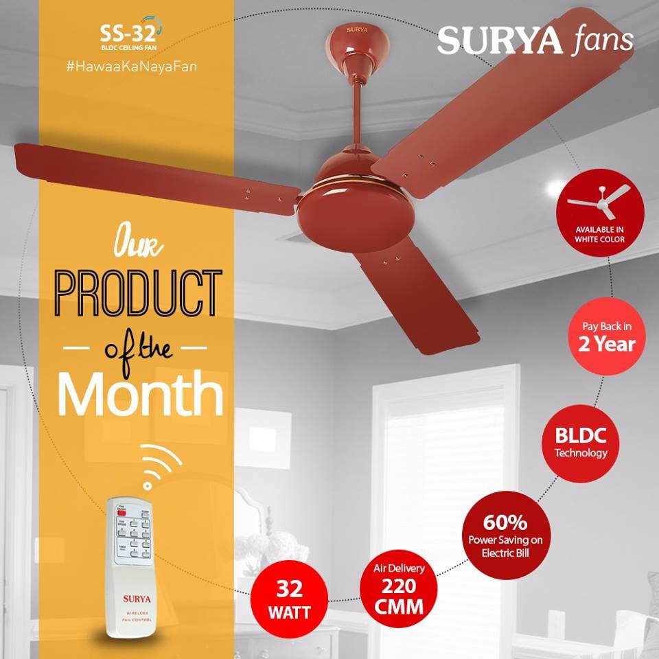 32 ceiling fan exterior patio surya roshni have variety of efficient ceiling fans available in india with their varient models at good prices it also presents bldc technology such fan ss32 energy saving ceiling fans pradeep jaiswal