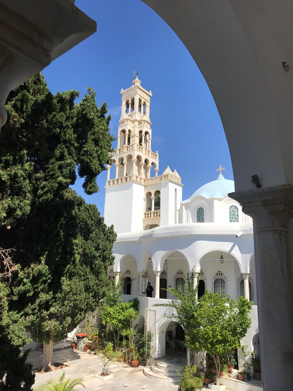 Our Lady of Tinos church