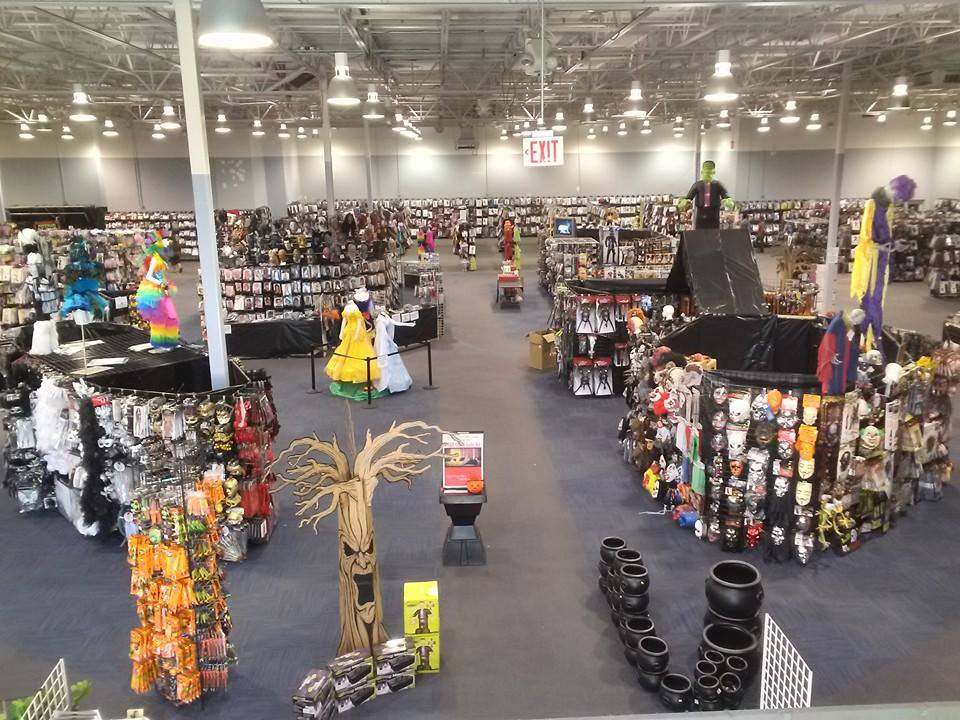 Disguises and Surprises at the Halloween Costume Warehouse
