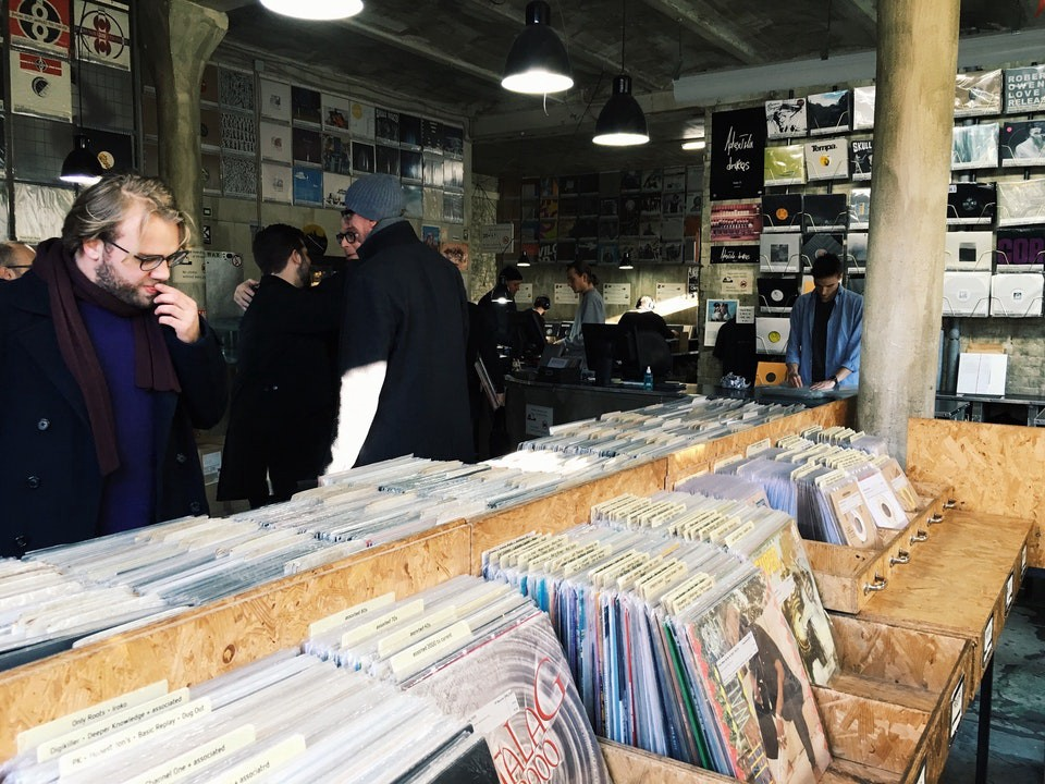 Hard Wax record shop in Berlin