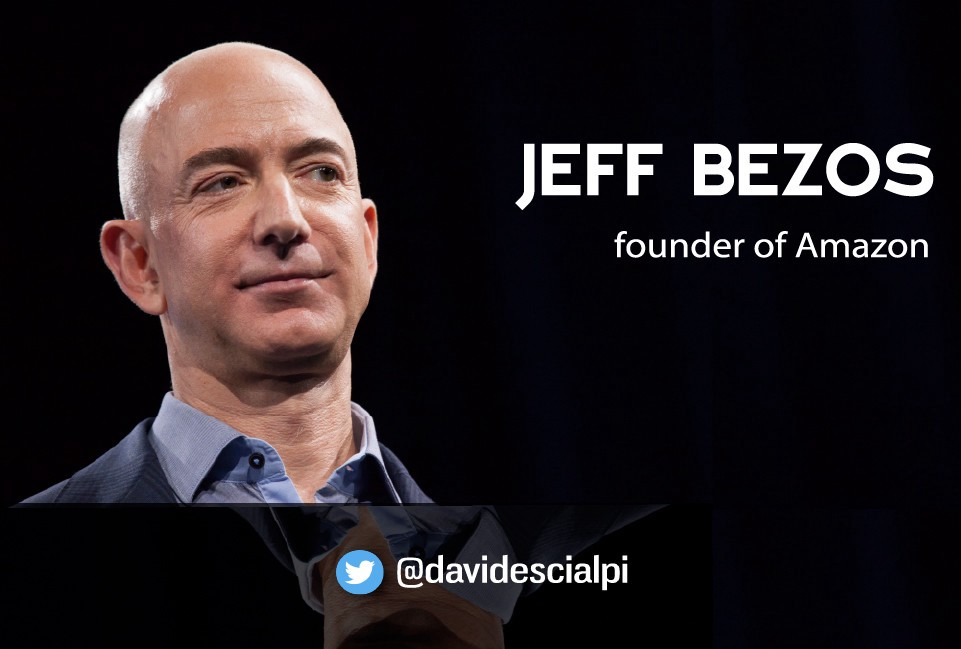 Jeff Bezos Quotes JEFF BEZOS's quotes about SUCCESS and LEADERSHIP — founder of AMAZON Jeff Bezos Quotes