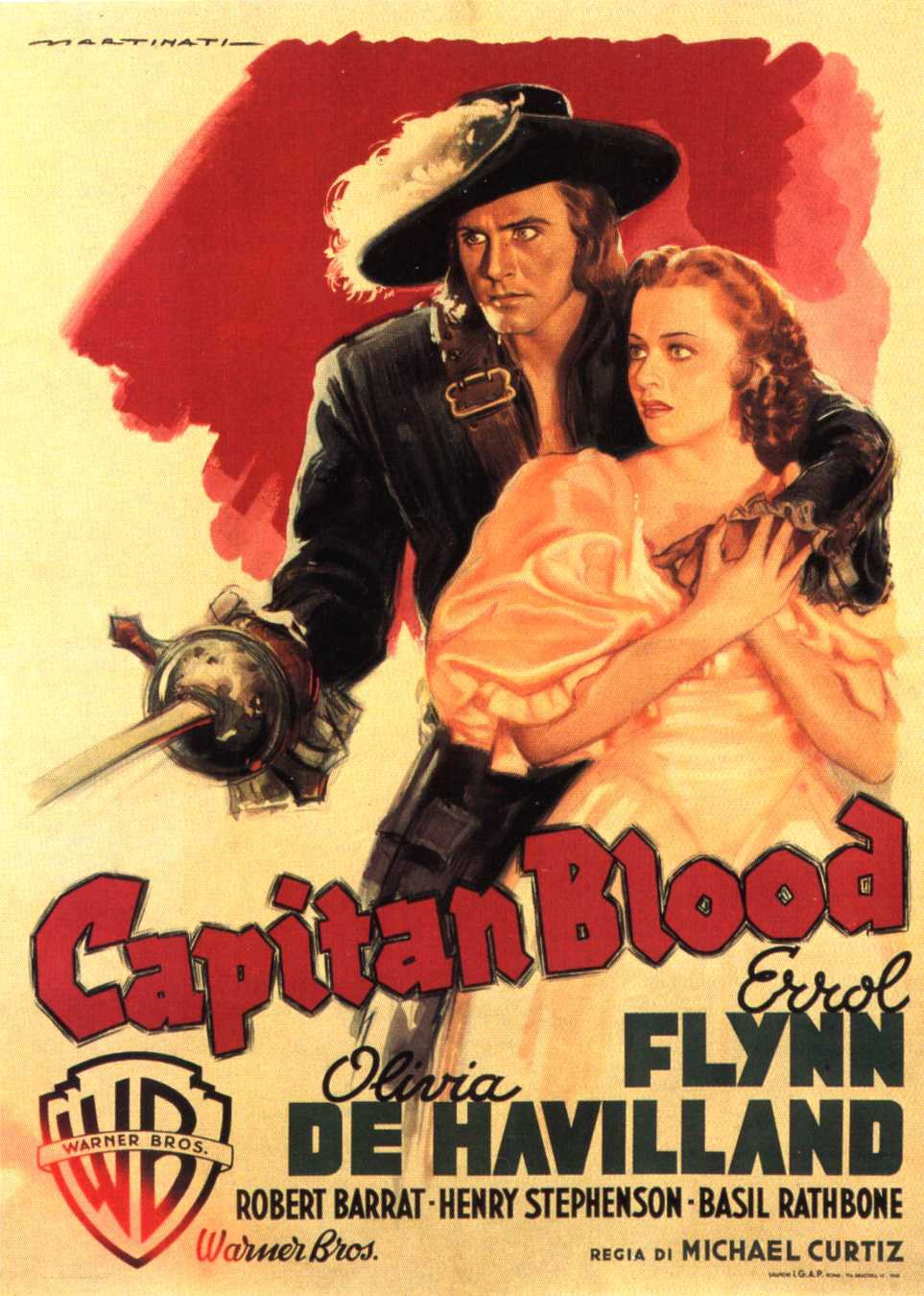 "Classic 30s Movie ""Captain Blood"" – Go Into The Story"