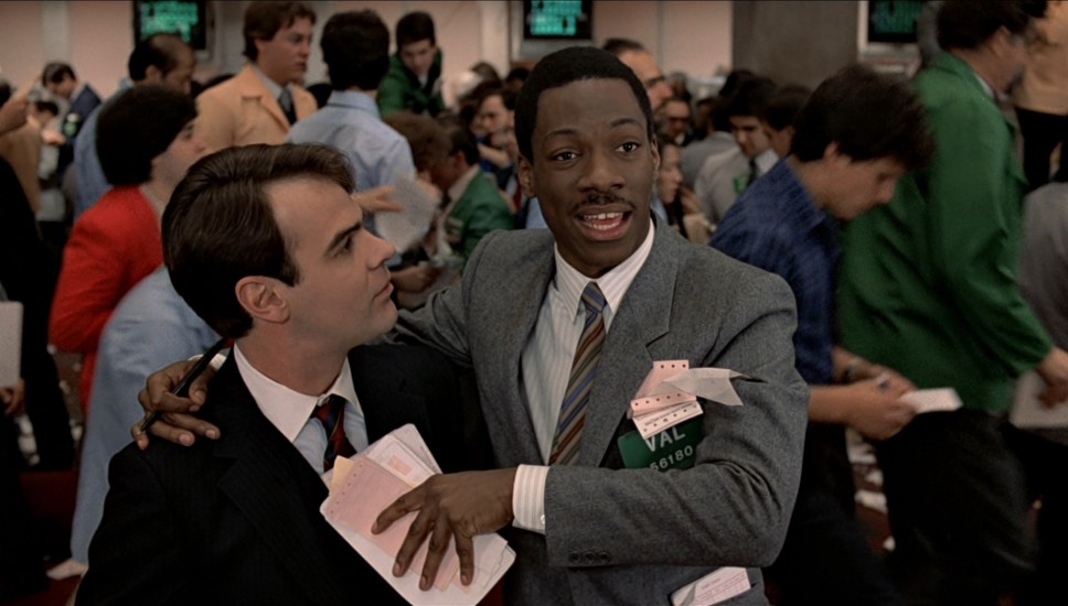 Trading Places Is Yet Another Embarrassment Of Riches In Terms Of Casting,  With Support From Denholm Elliott, Paul Gleason, Jim Belushi, Frank Oz, ...