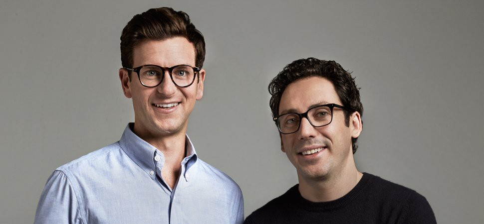 cc45af4ee4 Warby Parker co-founders Dave Gilboa (left) and Neil Blumenthal. CREDIT   Courtesy Company