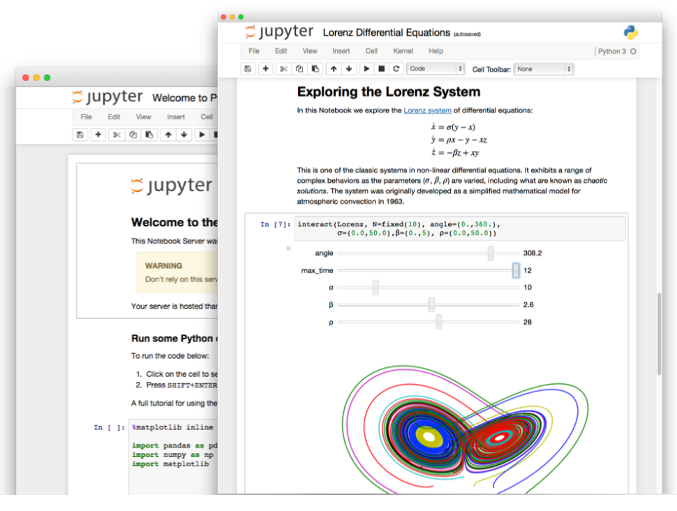 Jupyter & Python in the corporate LAN – Olivier Borderies – Medium