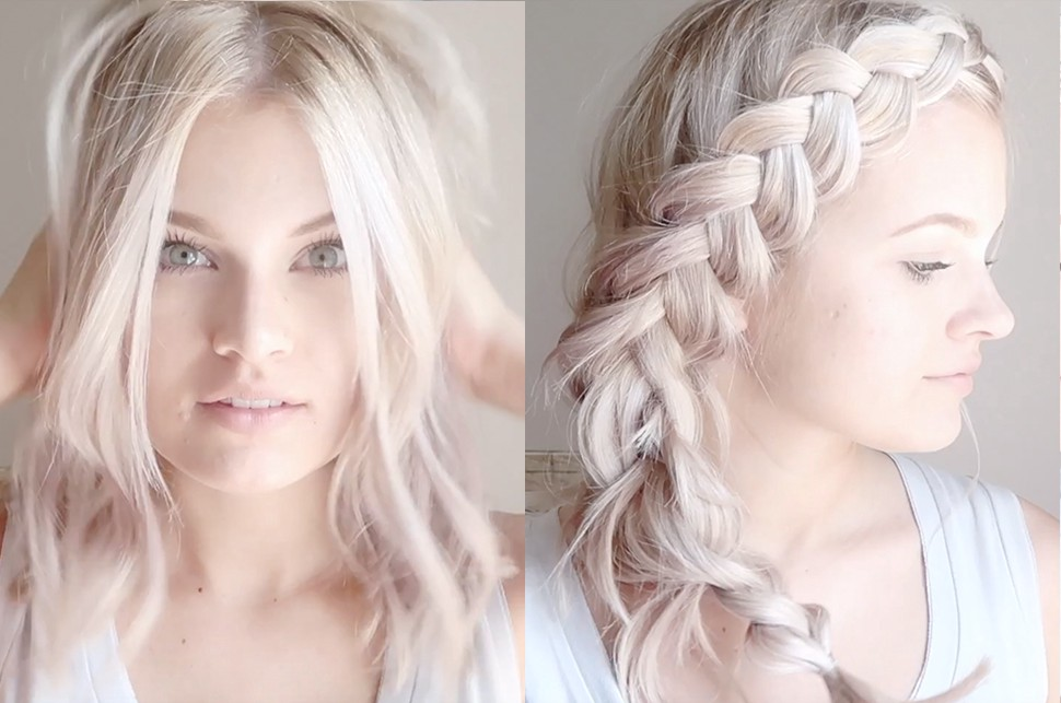 5 Amazing Hairstyles With Halo Hair Extensions Video Tutorials