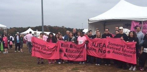 NJEA's team at the 2017 event