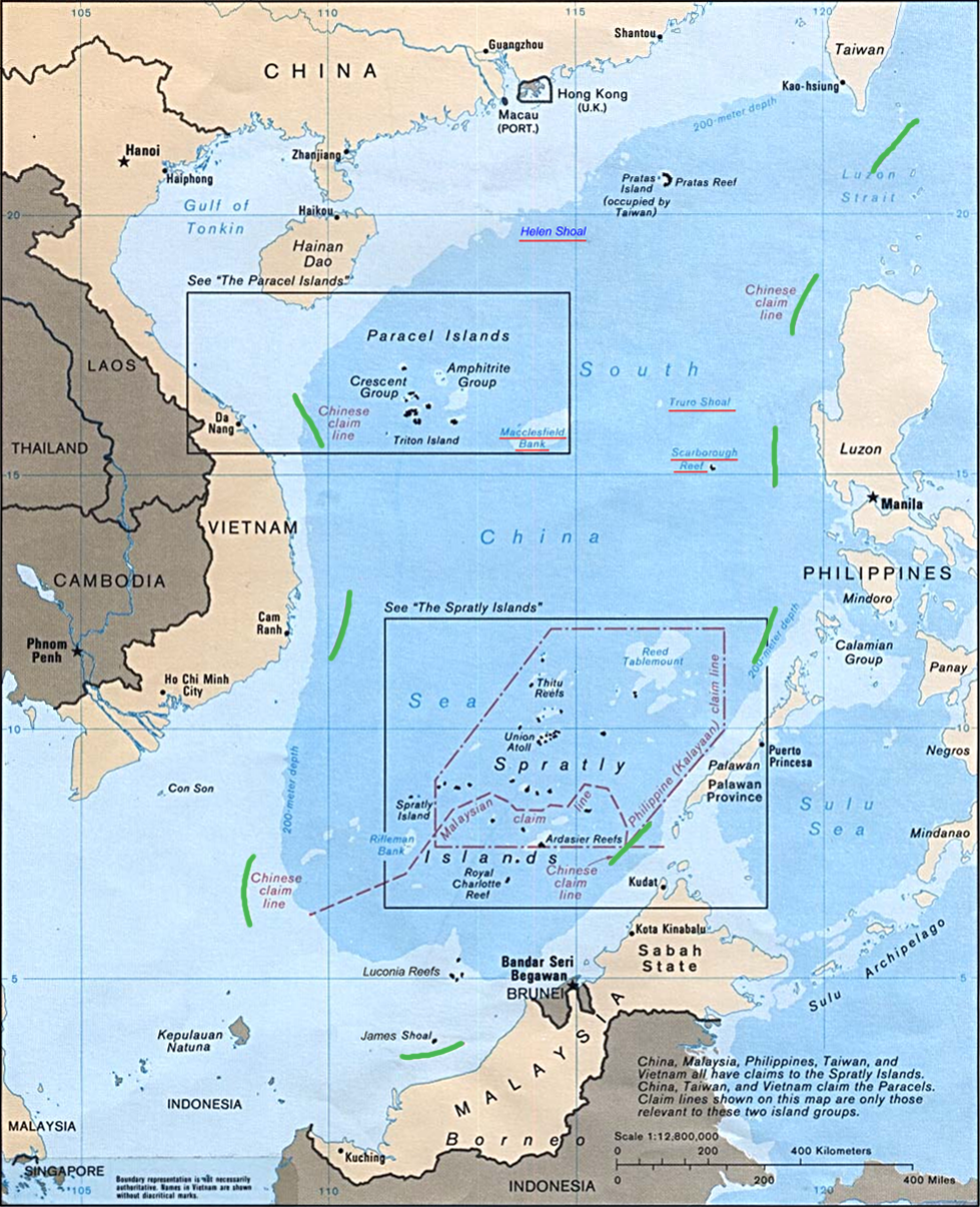 How china is winning the south china sea arc digital in 2009 china asserted a claim to a huge swath of the south china sea including areas deep within other countries exclusive economic zones gumiabroncs Images