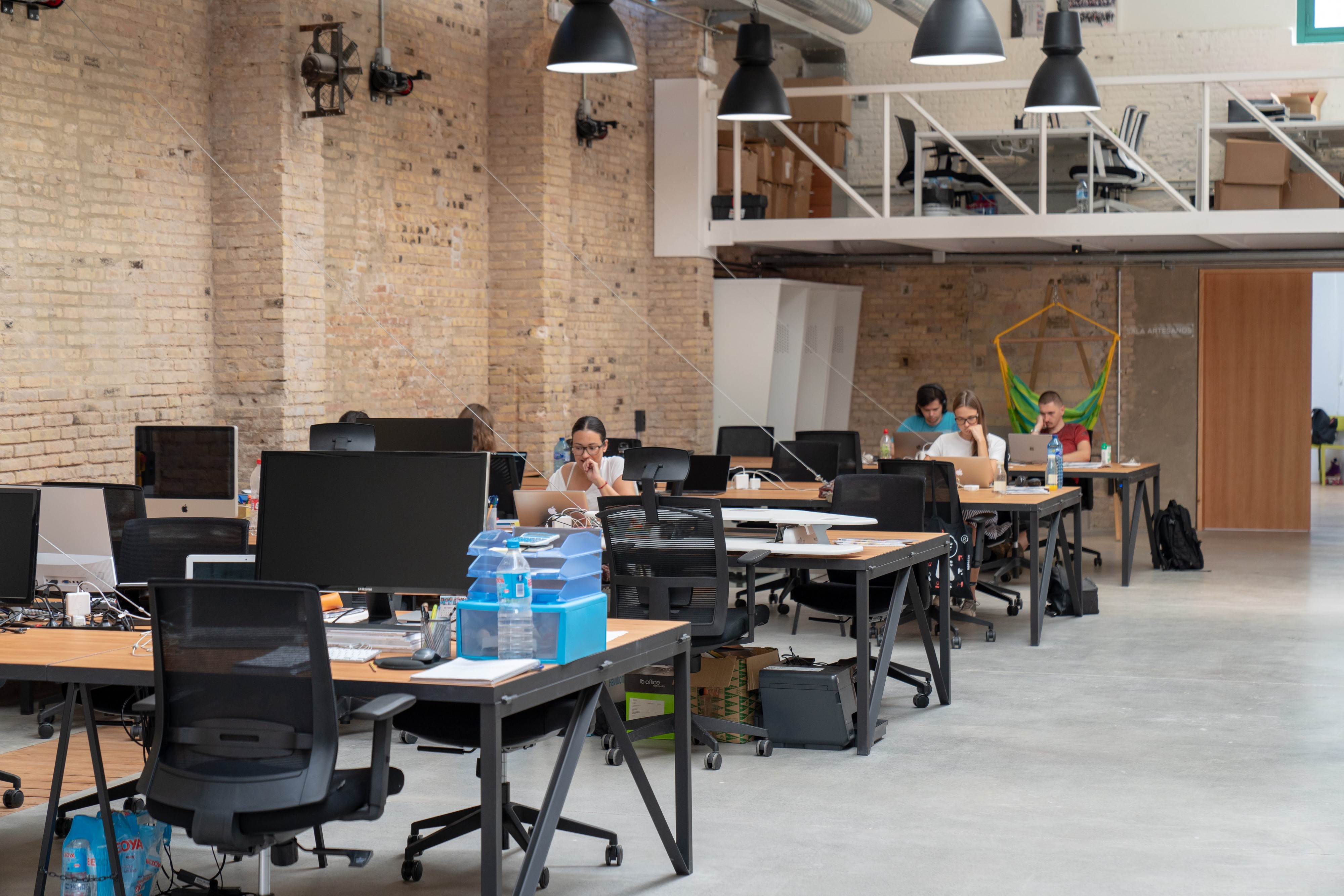 Wayco coworking space in Valencia.