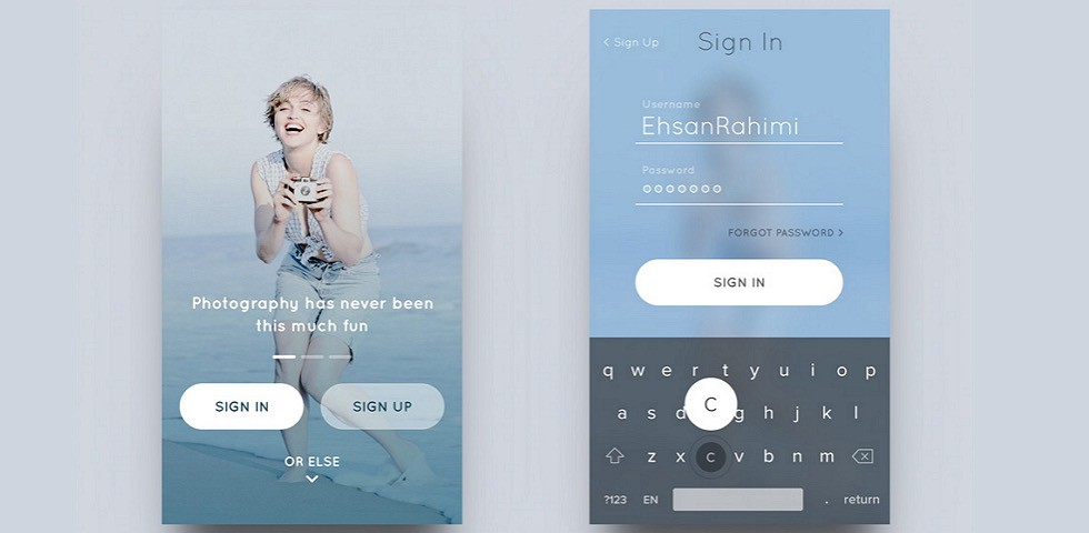 55dfa8ae1 iOS Design Patterns — Top 12 Mobile App UI Design Inspirations