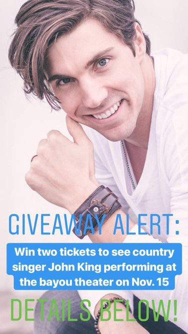 CONTESTS: Win a pair of tickets to John King concert