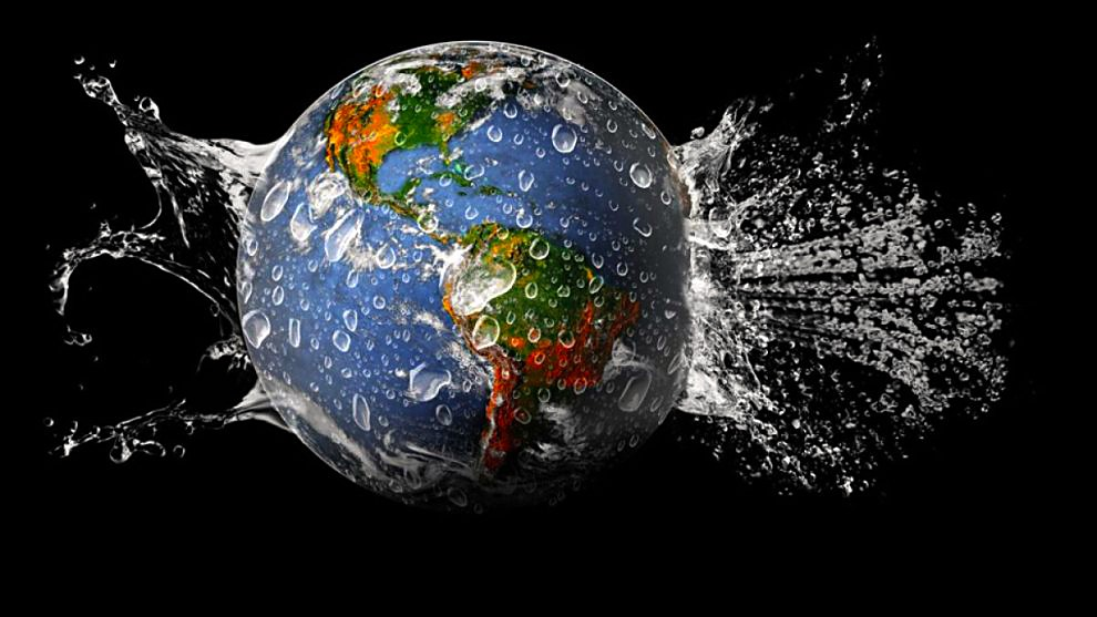 How the earth gets water-