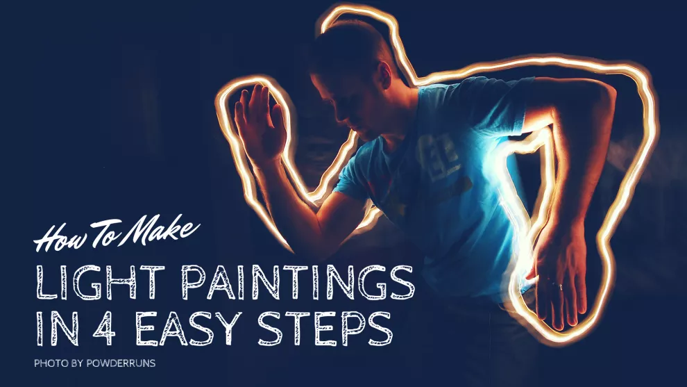 learn light painting photography in 4 super simple steps