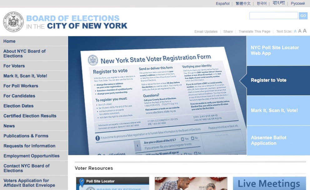 new york state legal age