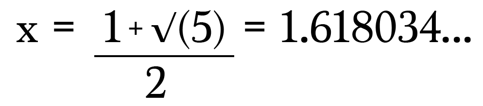What is the golden ratio math memoirs medium the golden ratio as promised publicscrutiny Choice Image